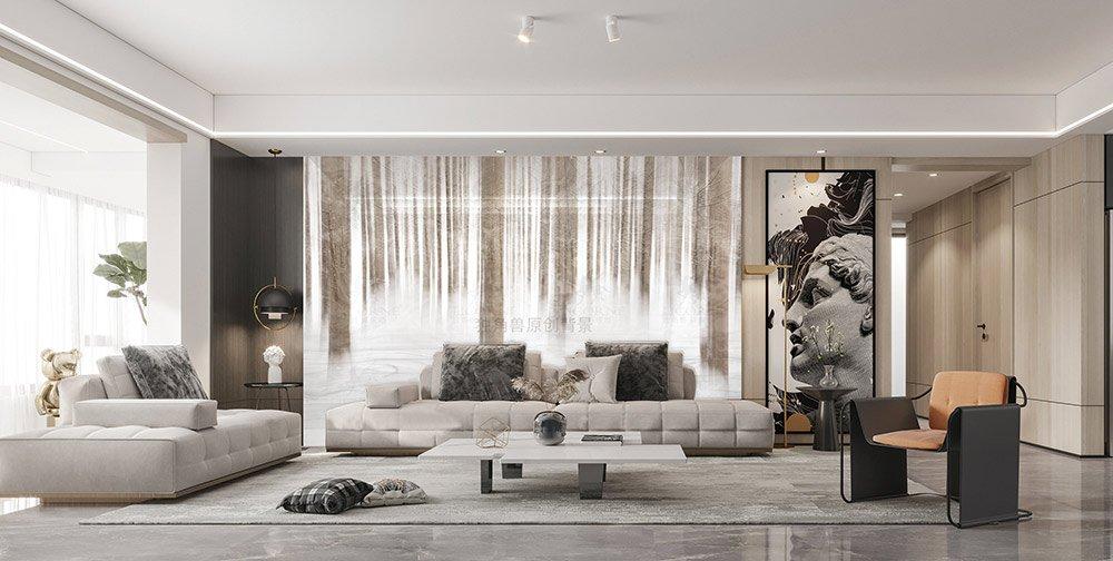 让客厅背景装饰画更好的装饰你的家