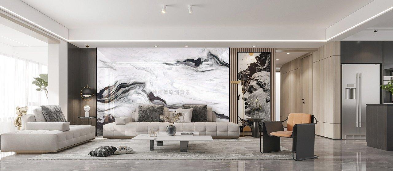 解析岩板背景墙材质工艺和作用