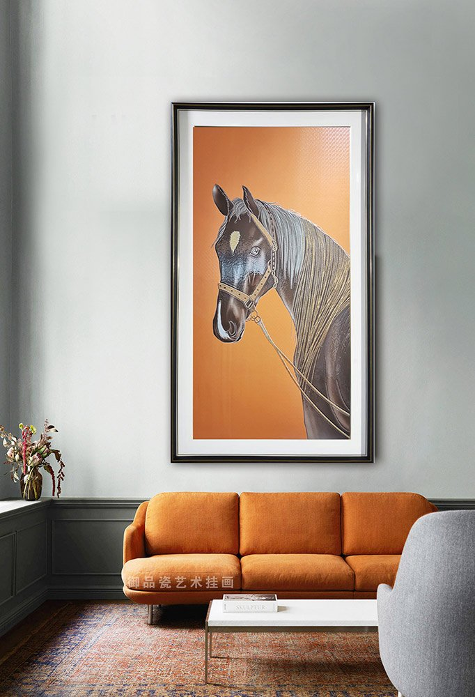 客厅背景墙装饰画