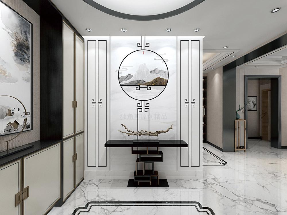 """""""玲珑瓷""""背景墙,演绎了现代中式家居的美学情怀"""