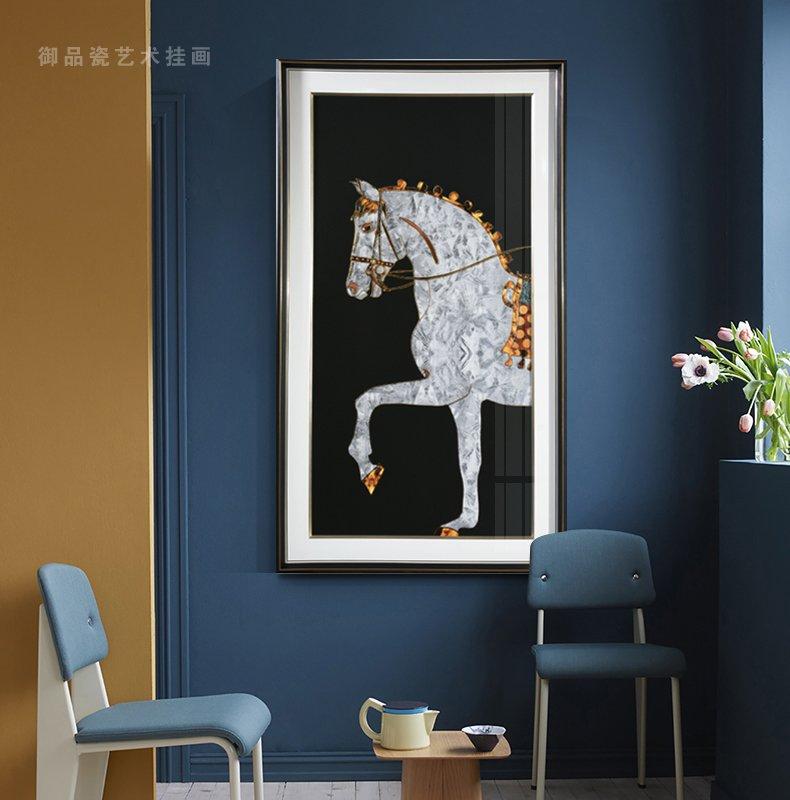 御品瓷客厅背景装饰挂画是如何变成一幅幅精美的装饰画?